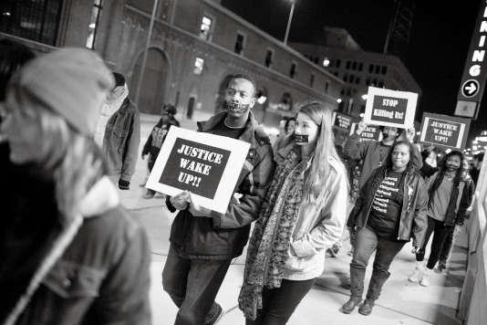 A Saint-Louis, en mars 2015, une marche contre les violences policières.