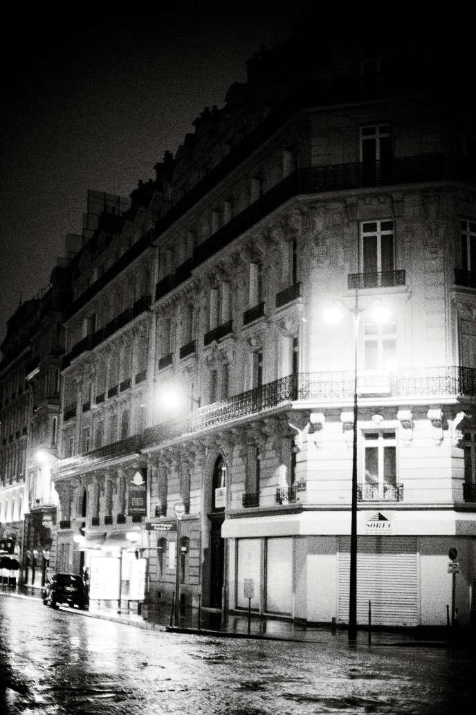 Le siège français de la Foncière du Triangle d'or, holding fondée par Adrien Labi et domiciliée au Danemark.