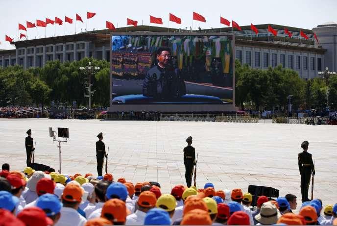 La place Tiananmen, le 3 septembre 2015.