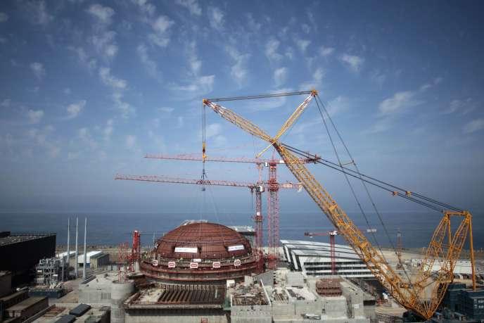Centrale nucléaire de Flamanville (Manche), le 16 juillet 2013.