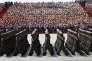 Défilé des soldats de l'Armée de libération du peuple(ALP) lors de l'anniversaire de la fin de la seconde guerre mondiale, à Pékin le 3 septembre 2015.