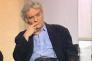 """Denis Roche, invité de l'émission """"Bouillon de culture"""" de Bernard Pivot, en 1997."""