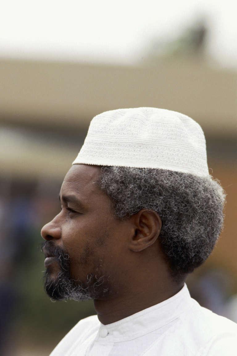 Hissène Habré, en 1987.