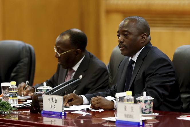 Joseph Kabila, le président de la République démocratique du Congo (RDC), lors d'un déplacement en Chine, le4septembre2015.