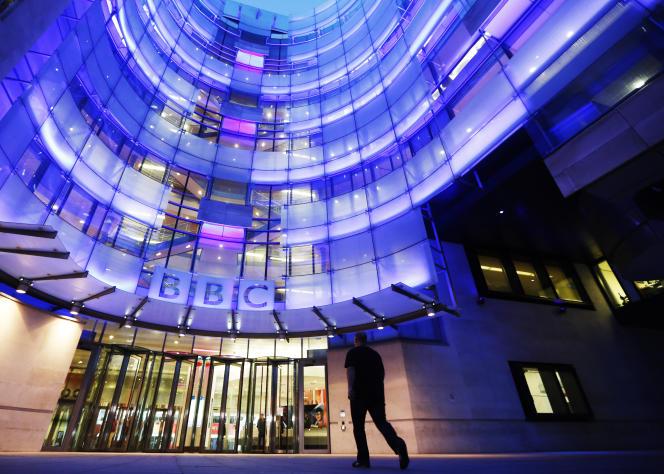 Bâtiment de la BBC à Londres, le 11 novembre 2012.