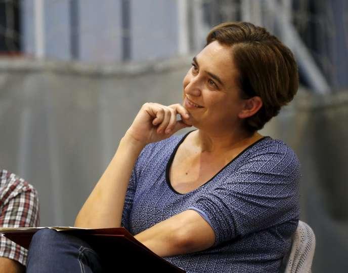 Ada Colau, le 4 septembre, à Barcelone.