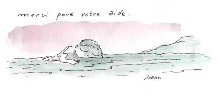 Le vendredi 4 septembre, l'artiste Joann Sfar signe plusieurs dessins dans une édition spéciale du quotidien belge «Le Soir».