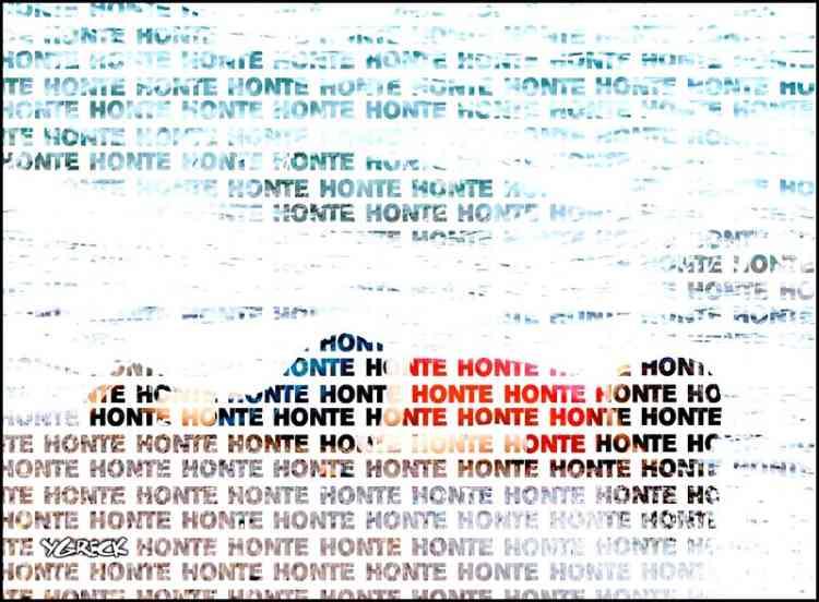 «Honte», s'indigne l'illustrateur québécois Ygreck sur ce montage.