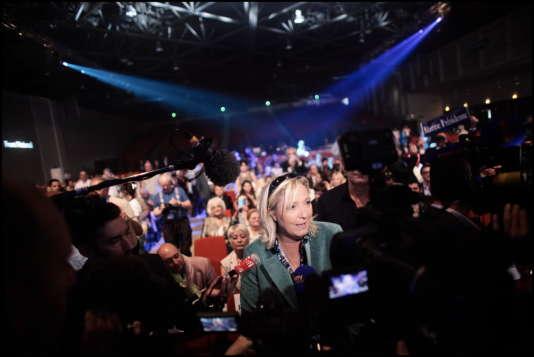Marine Le Pen à Marseille samedi pour l'université d'été du FN.