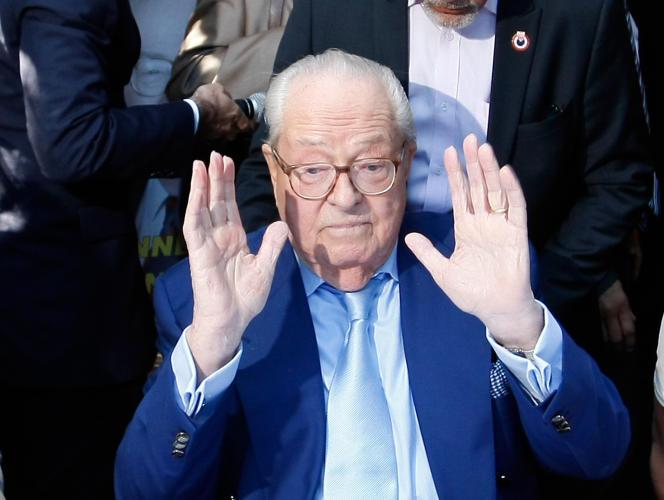 Jean-Marie Le Pen à Marseille, le 5 septembre.