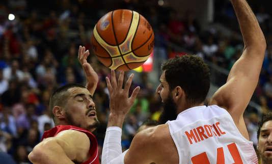 L'Espagne s'est inclinée face à la Serbie lors du premier match de l'Euro de basket