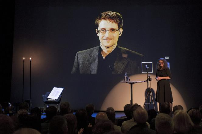 Edward Snowden, le 5 septembre 2015.