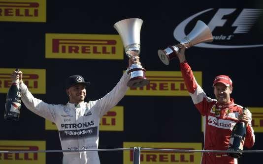 Hamilton, double champion du monde et leader du championnat, est parti en pole position et a terminé loin devant ses adversaires.