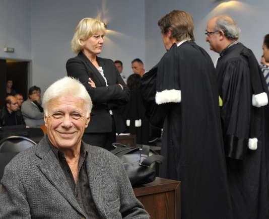 Guy Bedos et Nadine Morano, au tribunal de Nancy, le 7septembre.