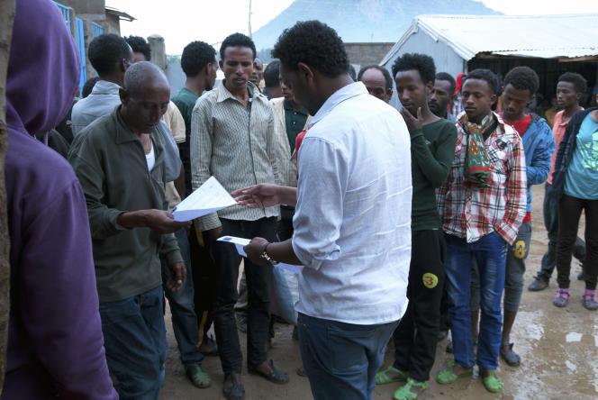 Des réfugiés érythréens à Endabaguna, en Ethiopie.