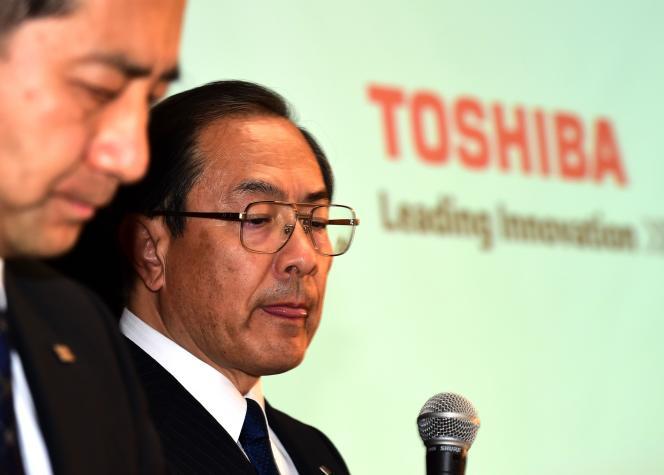 « Nous présentons de nouveau toutes nos profondes excuses aux actionnaires et investisseurs pour les inquiétudes et les ennuis que nous leur avons causés », a déclaré le PDG de l'entreprise, Masashi Muromachi, nommé à la suite du scandale, lors d'une conférence de presse à Tokyo, lundi 7 septembre 2015.