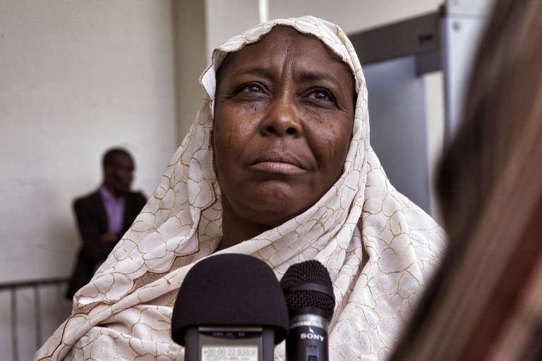 Fatime Hachim Saleh, le 7 septembre à Dakar.