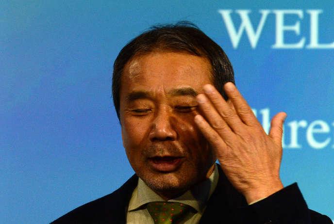 Haruki Murakami à Berlin en novembre 2014.