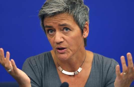 « Cette entente a porté préjudice à un très grand nombre de transporteurs routiers enEurope », a commenté la commissaire européenne chargée de la concurrence, Margrethe Vestager.