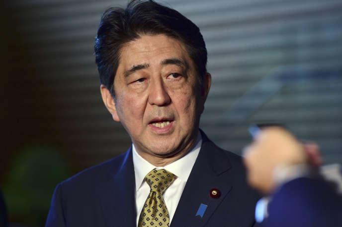 Le premier ministre japonais Shinzo Abe, le 8 septembre.