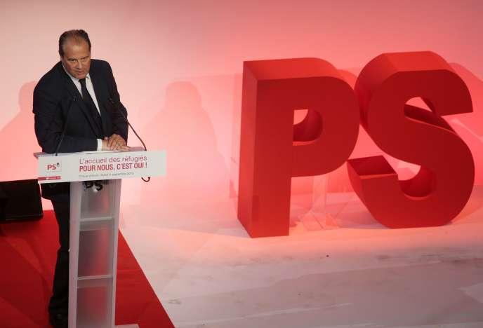 Le premier secrétaire du PS, Jean-Christophe Cambadelis, en a fait la proposition lors d'un Conseil national qui se tenait à la salle de la Mutualité à Paris, samedi 19 septembre.