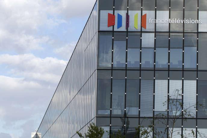 L'immeuble de France Télévisions, le 9 mai 2015.