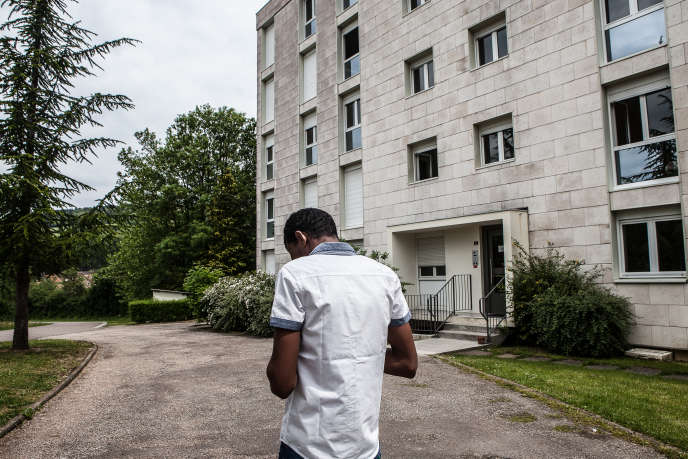 Un foyer de demandeurs d'asile géré par la société Adoma à Pouilly-en-Auxois (Côte-d'Or), le 22 mai.