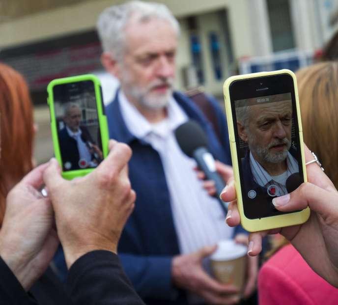 Jeremy Corbyn à Colchester à l'Est de Londres le 2 septembre 2015.