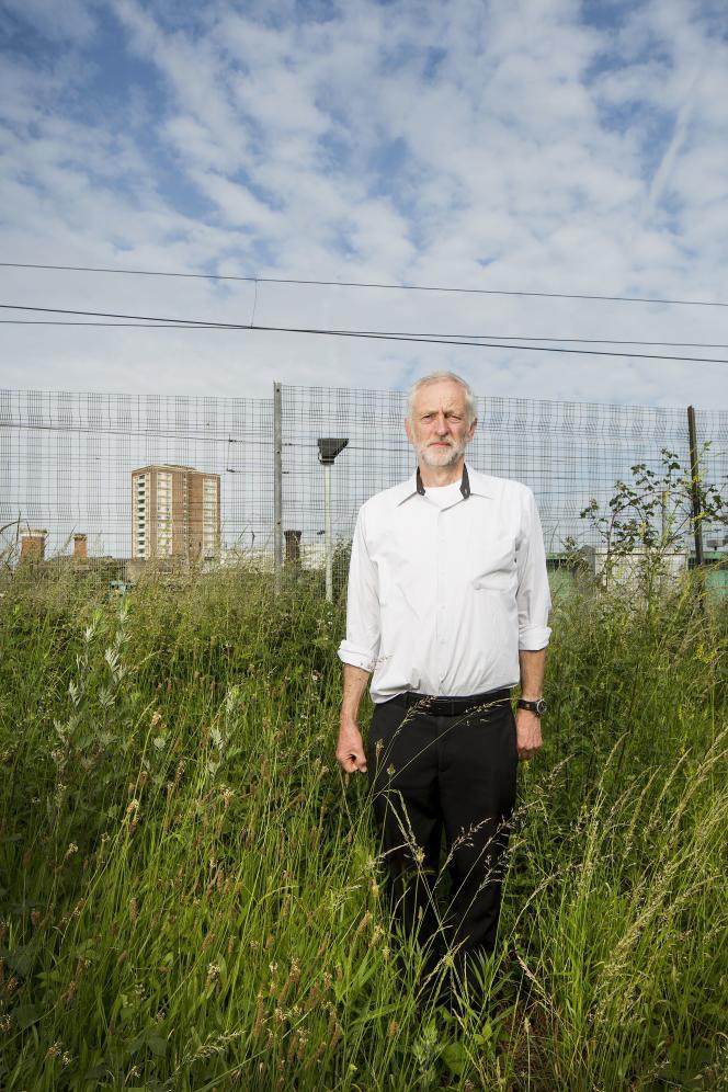 Jeremy Corbyn, en juin.
