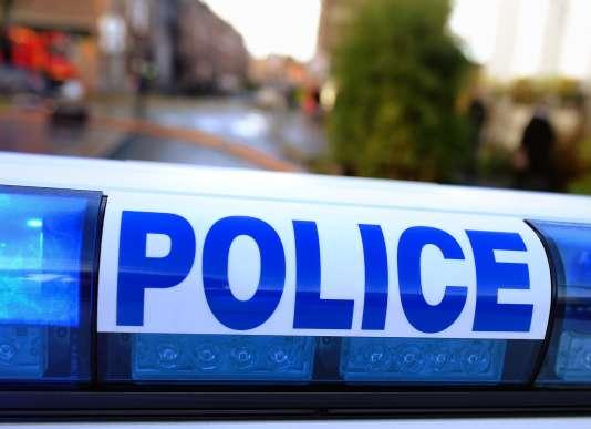 Une voiture de police, le 28 décembre 2013, dans le Nord de la France.
