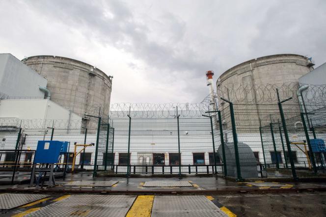 La centrale nucléaire de Fessenheim, Haut Rhin, le 9 avril 2013.
