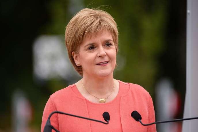 Nicola Sturgeon, la première ministre de l'Ecosse, le 9septembre.