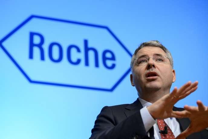 Le PDG du laboratoire Roche, Severin Schwan, s'est agacé de la décision des autorités britanniques de ne plus rembourser deux de ses traitements anticancéreux