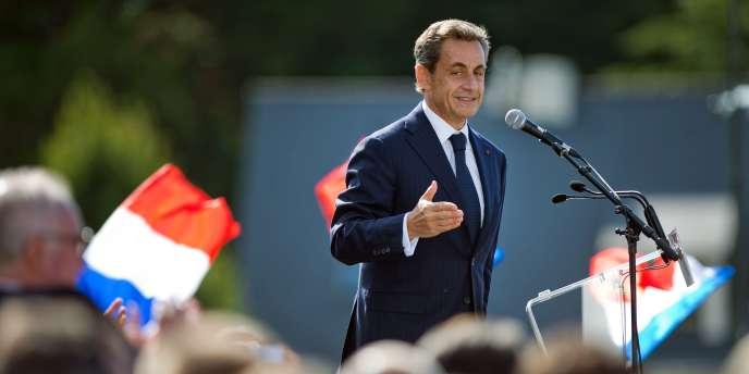 Nicolas Sarkozy, président du parti Les Républicains, à La Baule le 5 septembre.