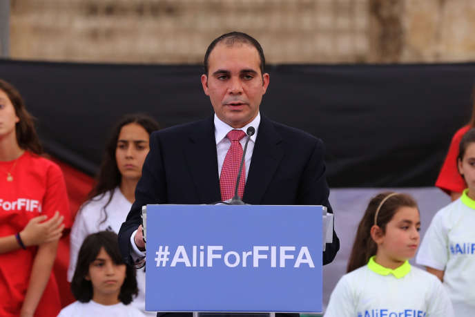Le prince Ali Ben Al-Hussein a annoncé sa candidature mercredi 9 septembre.