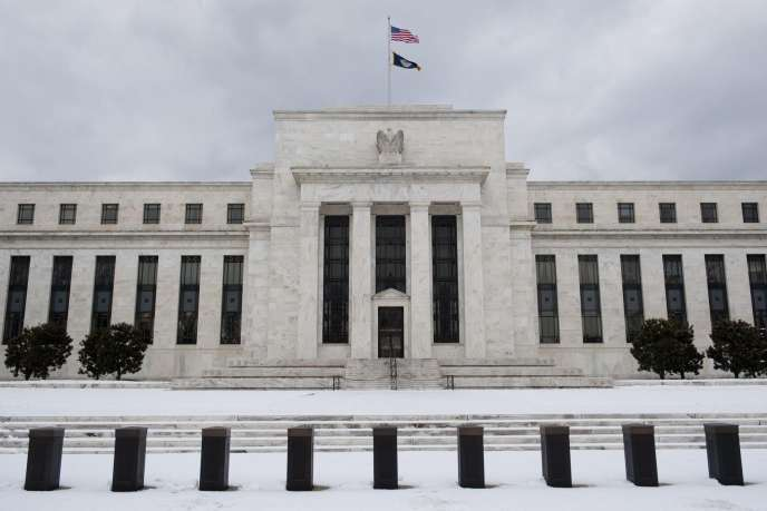 La Réserve fédérale américaine (Fed) à Washington (2011).
