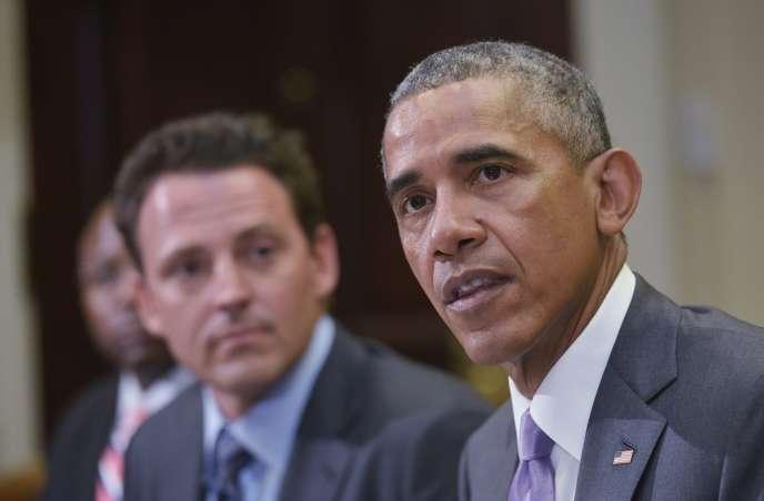 Le président des Etats-Unis, Barack Obama, le 10 septembre à Washington.