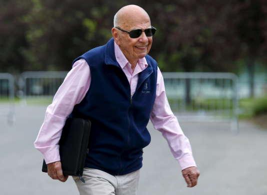 Le magnat des médias Rupert Murdoch, à Sun Valley (Idaho), en juillet 2015.