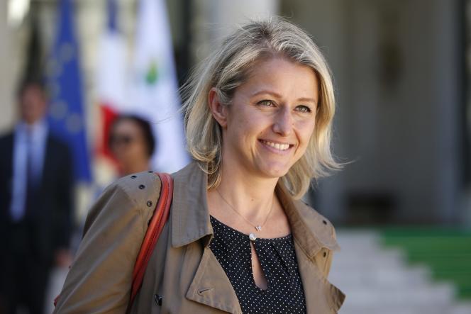 Barbara Pompili, coprésidente du groupe écologiste à l'Assemblée nationale, le 10 septembre à Paris.