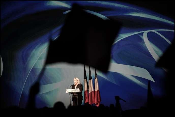 Marseille, Université d'été du Front National / Discours de Marine Le Pen le 06/09/2015