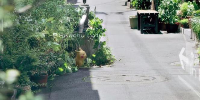 Un Pikachu en plein milieu de la rue : c'est le concept de « Pokémon Go », un jeu vidéo en réalité augmentée.