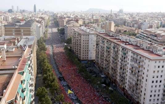485 000 personnes sont attendues à cette manifestation.