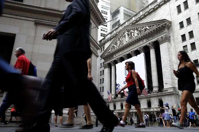 A New York, l'indice S&P 500 a abandonné plus de 5 % depuis le début de l'année.