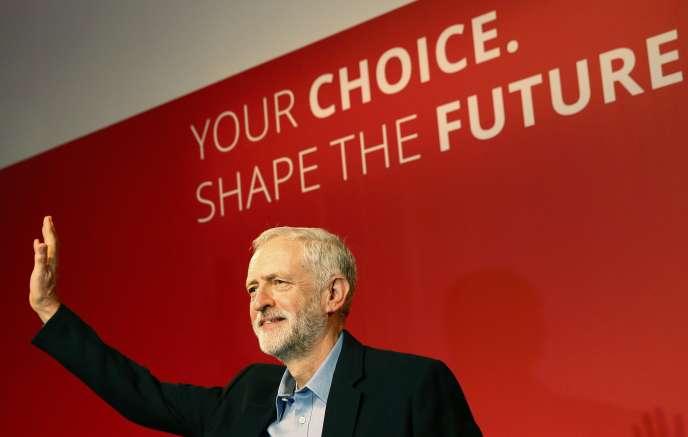 Après son élection à la tête du Labour, Jeremy Corbyn a plaidé pour une « société meilleure ».