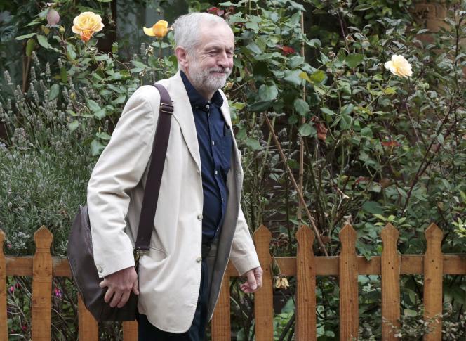 Le nouveau président du parti travailliste, au lendemain de son élection, dimanche 13 septembre.