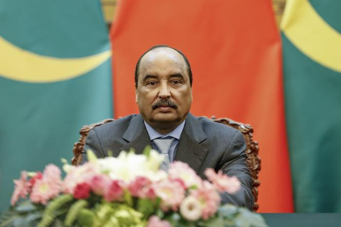 Le président mauritanien, Mohamed Ould Abdel Aziz, le 14 septembre, à Pékin.