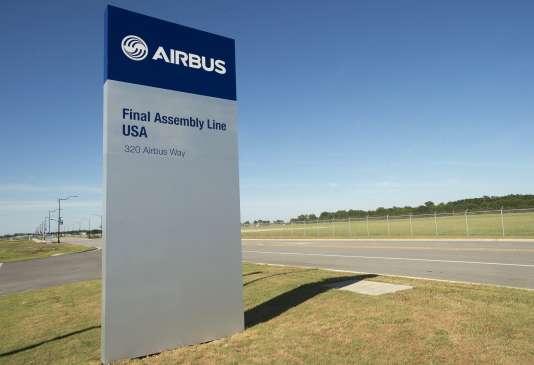 L'usine Airbus de Mobile dans l'Alabama.