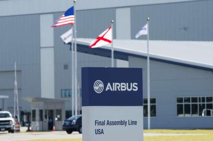 Une usine Airbus d'Alabama (Etats-Unis).
