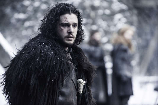 "John Snow, l'un des héros de ""Game of Thrones"""