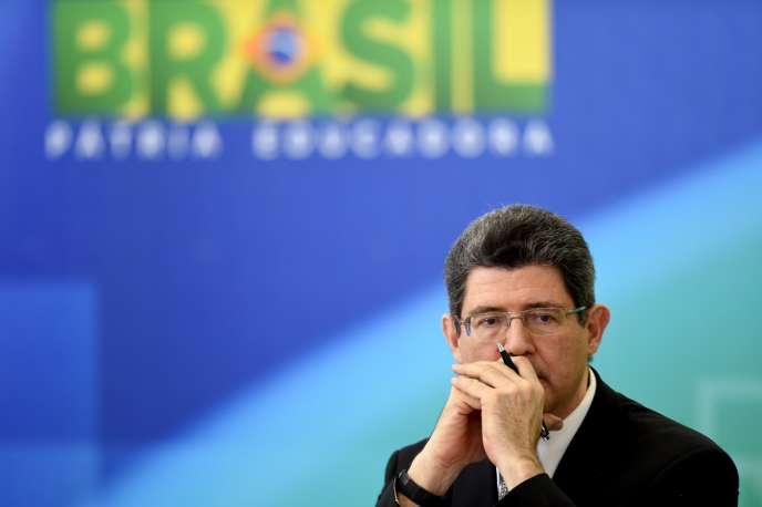 Le ministre des finances brésilien, Joaquim Levy, le 14 septembre à Brasilia.
